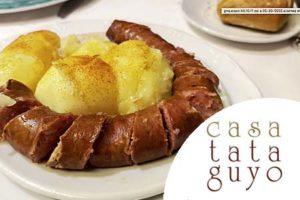 Casa Tataguyo IMAGEN menu hosteleria