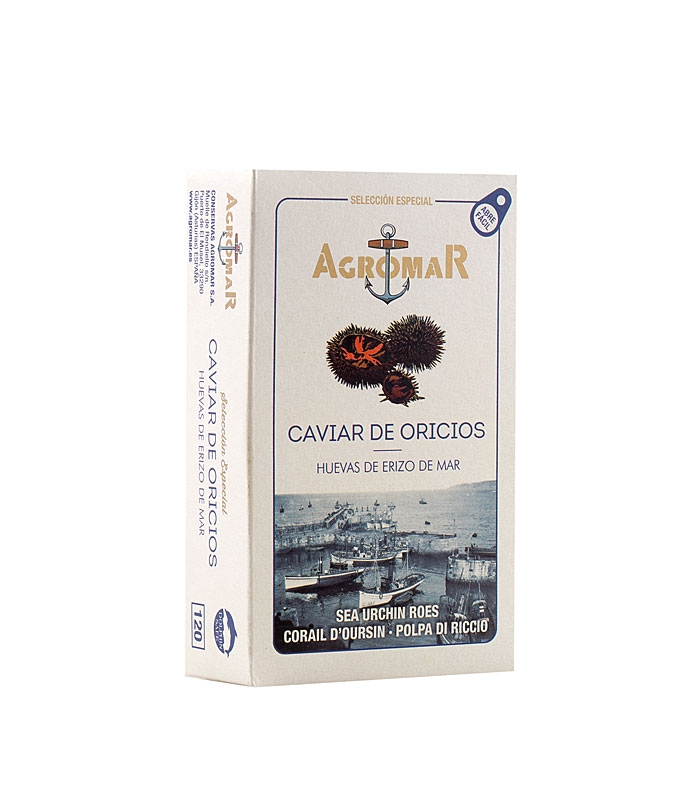 Caviar de oricios Agromar 120 g