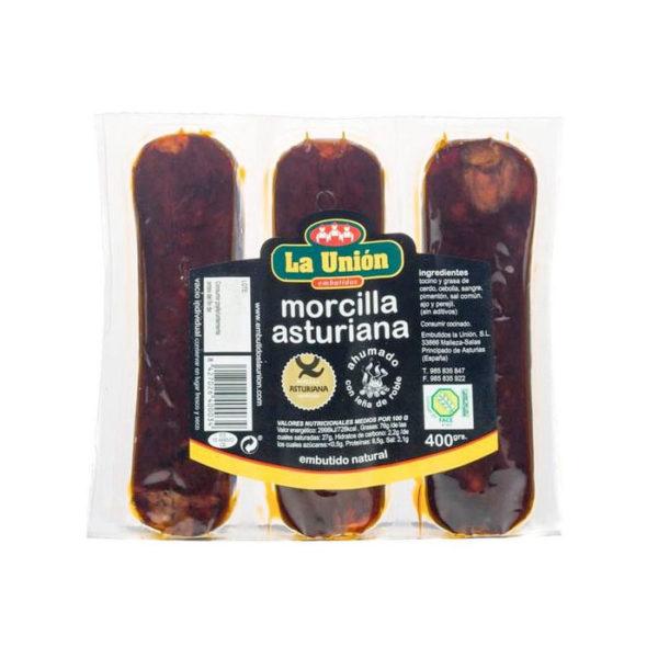 Morcillas de Asturias La Unión, Embutidos de Asturias, gorfoli.com tienda online de productos asturianos gourmet