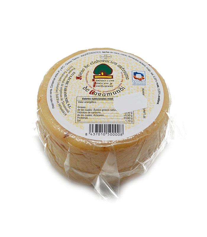 Queso de Taramundi con nueces y avellanas, Quesos de Asturias, gorfoli.com tienda online quesos de Asturias