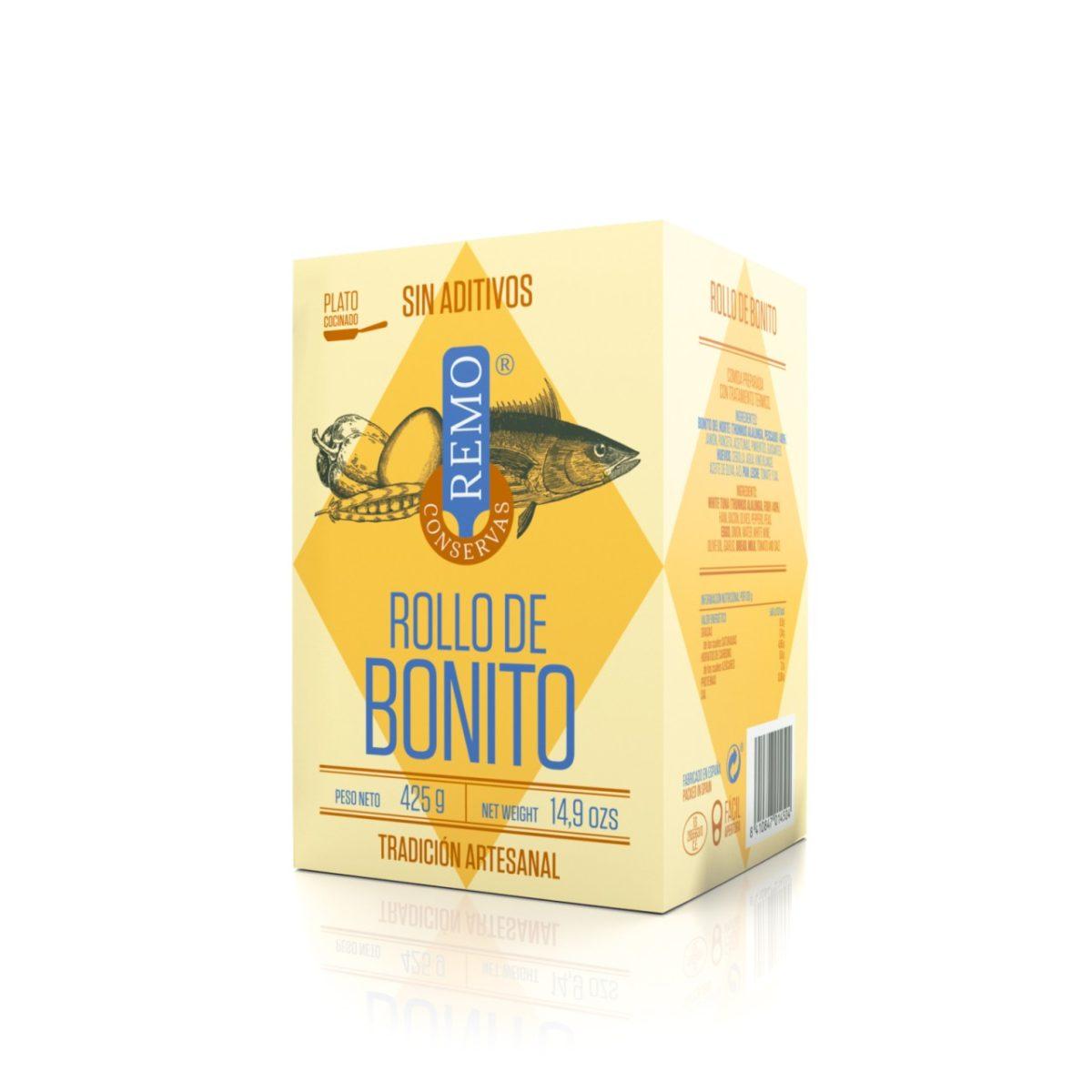 Rollo de Bonito de Conservas Remo, platos cocinados asturianos, Gorfolí tienda online de productos gourmet de Asturias