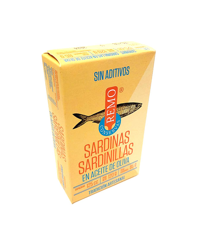 Sardinillas en aceite de oliva Remo